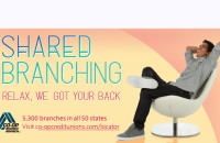 Shared Branching. Relax, We Got Your Back!
