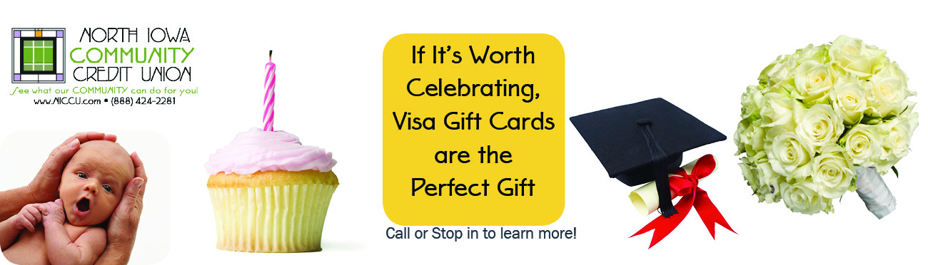 If it's worth celebrating, visa gift cards are the perfect gift